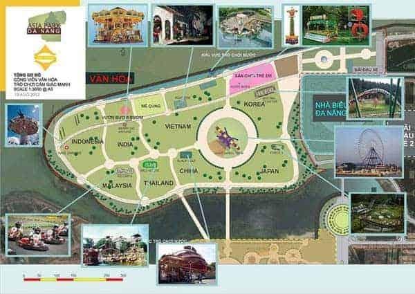 Bản đồ Asia Park