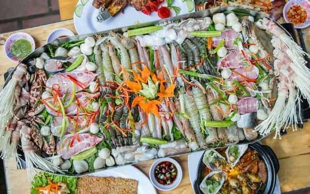 hải sản tươi ngon tại Đà Nẵng